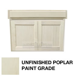 "30"" Paintable ADA Wheelchair Vanity Contractor Series MAIN"