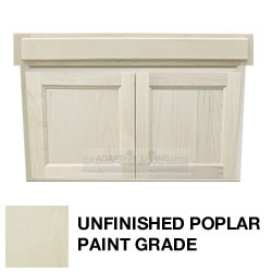 "36"" Paintable ADA Wheelchair Vanity Contractor Series MAIN"