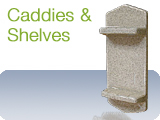Shower Caddies and Shower Shelves