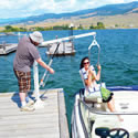 EZ 2 Pool Boat Lift F-EZPL2 THUMBNAIL