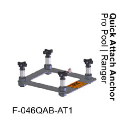 Pro Pool Lift Quick Attach Anchor Kit F-046QAB-AT1
