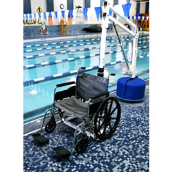Revolution Pool Lift Wheelchair Picker Aqua Creek F-705-S2