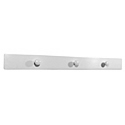 Ponte Giulio White Nylon Triple Robe Hook