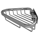 Chrome Triangular Soap Basket