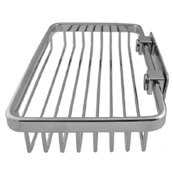 Ponte Giulio Hotel Collection Chrome Rectangular Soap Basket