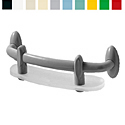 Ponte Giulio Urbinati Safety Towel Holder with Shelf