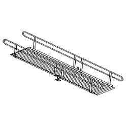 Aluminum Modular Straight Wheelchair Ramp Kit