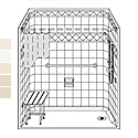 LDS6032E1B Best Bath 60 x 32 Barrier Free Diamond Tile Shower Unit with End Drain THUMBNAIL
