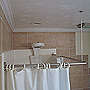 Corner Shower Curtain Rod Kit SWATCH