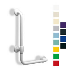 Maxima Series L-Shaped Colored Grab Bar LARGE