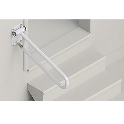 HealthCraft Angled PT Rail Folding Grab Bar PT-ANG32