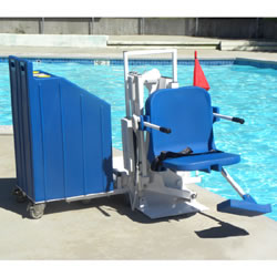 ADA Patriot Portable Pool Lift LARGE