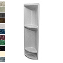 Pearl Tall Corner Shower Caddy THUMBNAIL