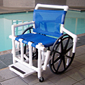 Heavy Duty Pool Access Chair F-520SPM THUMBNAIL