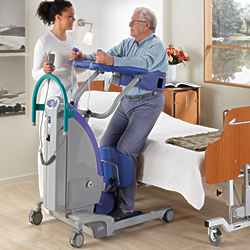 Sara Plus Standing and Raising Aid Floor Lift LARGE