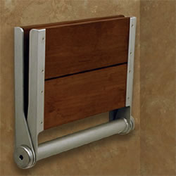 Invisia SerenaSeat Wall Mounted Folding Shower Seat_MAIN