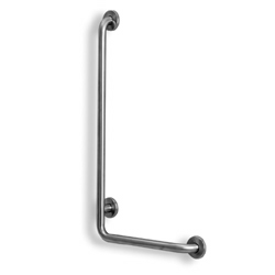 Satin Stainless Steel L-Shaped Grab Bar LARGE