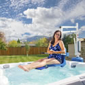 Aqua Creek Spa Lift Ultra ADA Compliant Pool Lift F-005SLU THUMBNAIL