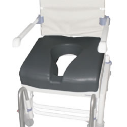 Special Soft Seat Overlay, fits all Aquatec Ocean model bath chairs A16342