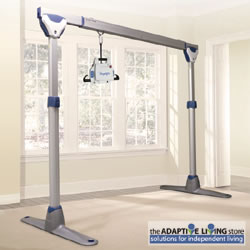 Easytrack freestanding Voyager ceiling lift transfer track