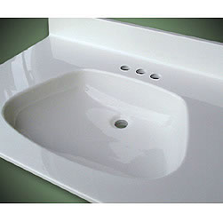 "ADA Bowl Vanity Sink Top, 5/8"" Deck, Premium & Matte Colors_MAIN"