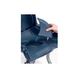 Boris Shower Commode Chair Abduction Wedge Splash Guard
