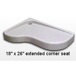 Corner Shower Seat Extended MAIN