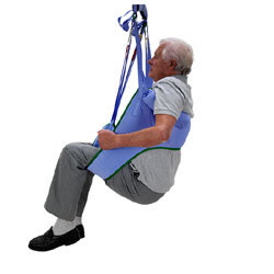 Arjohuntleigh Toilet Loop Sling NO Head Support LARGE