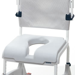 Ocean Shower Commode Chair Replacement Soft Seat Overlay LARGE