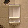 Pearl Corner Shower Caddy SWATCH