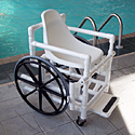 Pool Access Wheelchair F-520SPPS Aqua Creek Products THUMBNAIL