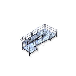 Aluminum Modular XP Ramp to Switchback Platform to Ramp to Turn Platform Kit 7 LARGE