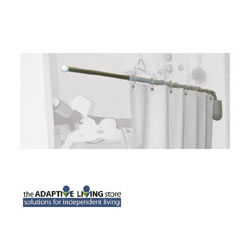 Telescoping Pivoting Curtain Rod LARGE