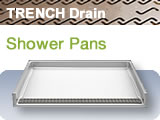 Trench Drain Pans ADA Roll In Showers Bestbath Accessible
