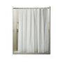 Weighted Shower Curtain, Heavy Duty White Vinyl SWATCH