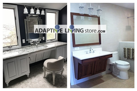 Wheelchair Vanity Ada Cabinet Bathroom Sink Accessible