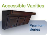 ADA Compliant Bathroom Wheelchair Accessible Vanity Cabinets