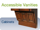 ADA Wheelchair Accessible Vanity Cabinets