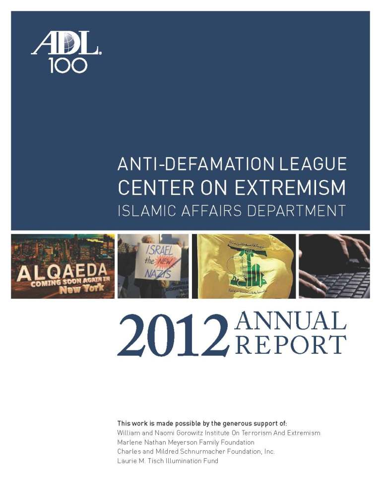 Islamic Affairs Department Annual Report