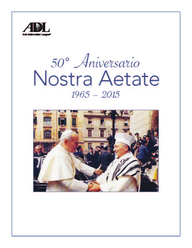 50th Anniversary of Nostra Aetate - Spanish