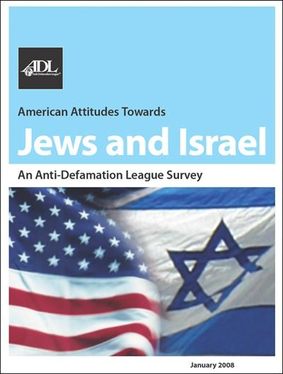 American Attitudes Towards <br>Jews and Israel THUMBNAIL