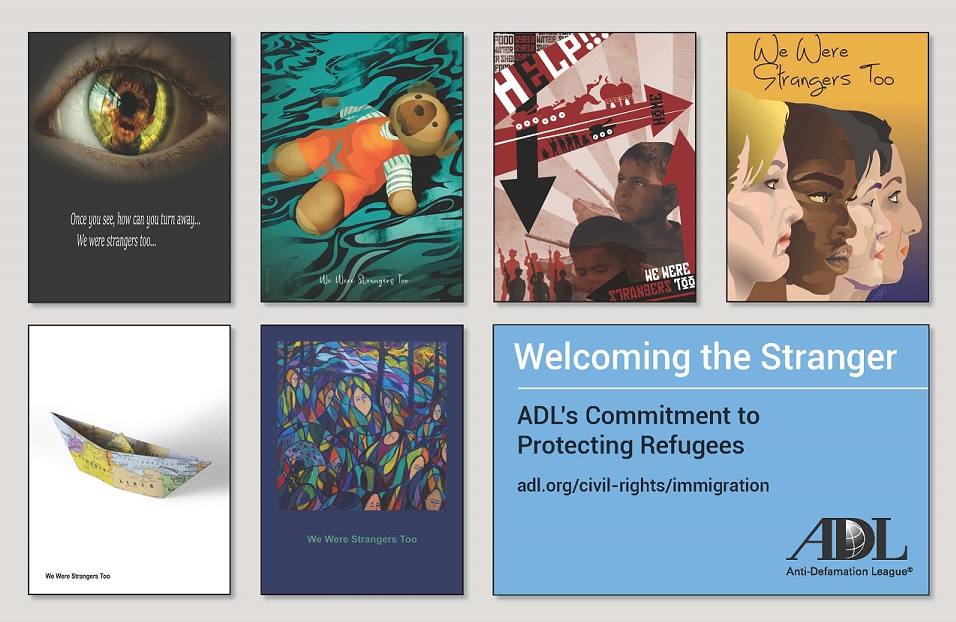 Welcoming the Stranger: ADL's Commitment to Protecting Refugees - Postcard