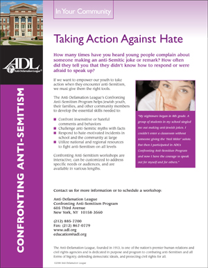 Confronting Anti-Semitism - In Your Community