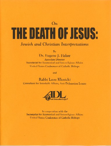 On the Death of Jesus