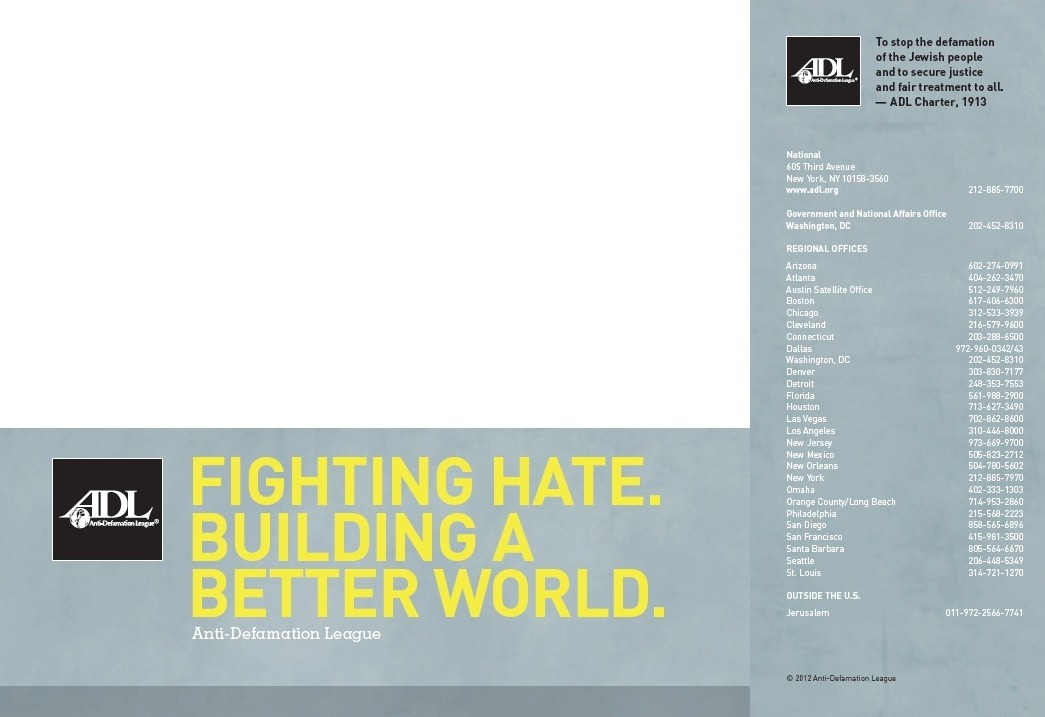 ADL Pocket-Sized Brochure (2012)