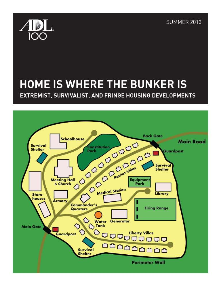Home Is Where the Bunker Is: Extremist, Survivalist, and Fringe Housing Developments