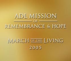 ADL Mission of Remembrance & Hope (DVD)