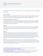 Refugee – Key Terms THUMBNAIL