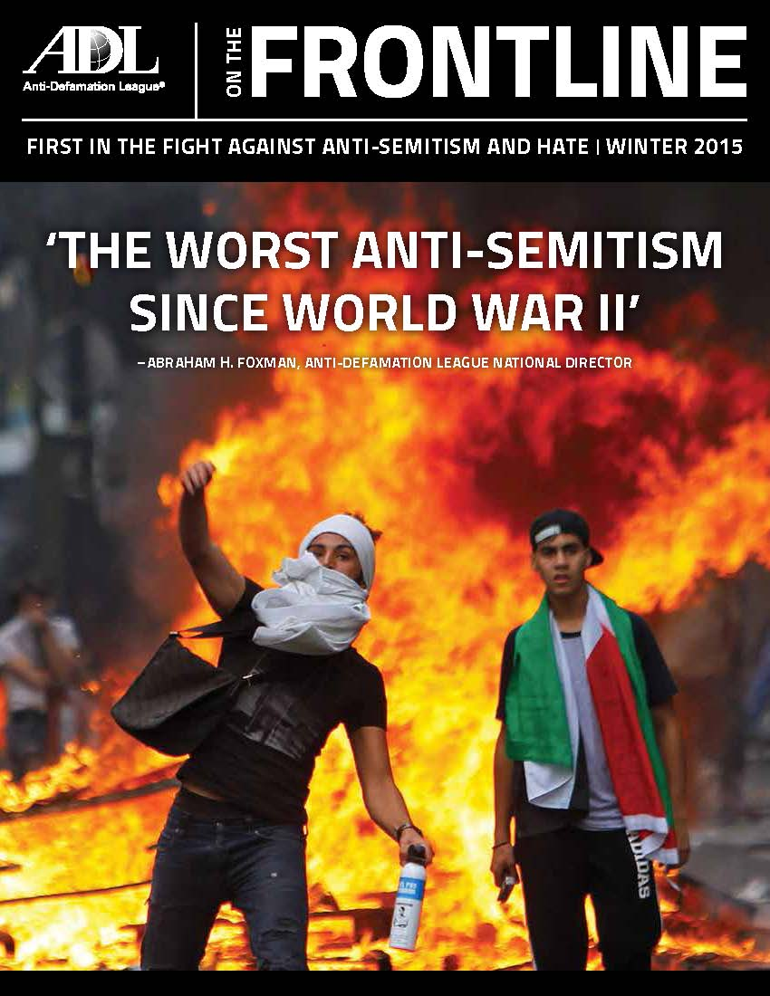 ADL on the Frontline - Winter 2015