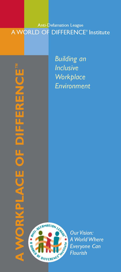 A WORKPLACE OF DIFFERENCE™  Brochure